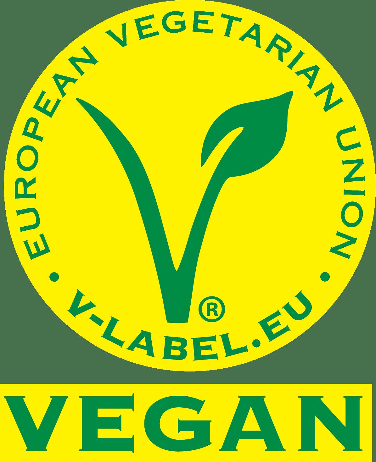 label vegan