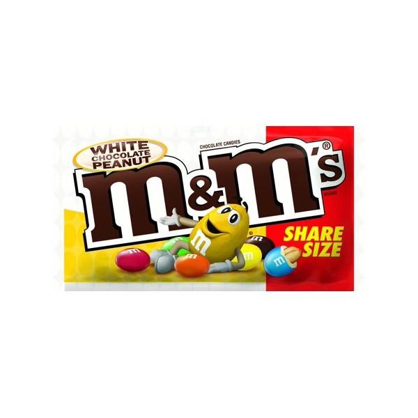 m&m's chocolat blanc peanut