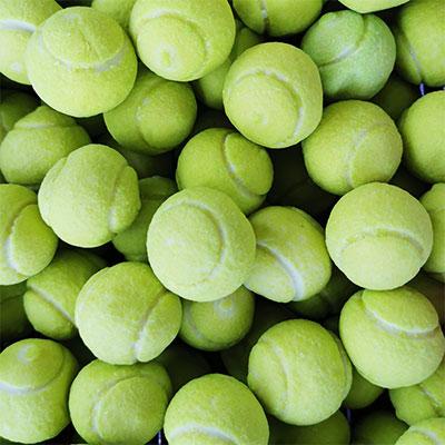 Balle tennis gum XL