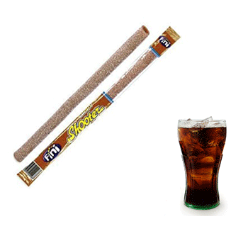 Paille shooter cola x2