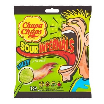Chupa Chups sours infernals